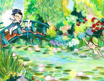 Claude Monet at Age 8