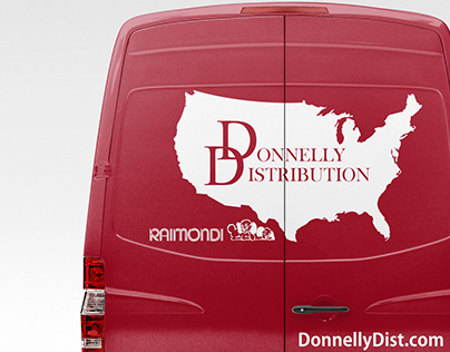 Donnelly Distribution Vehicle Wrap