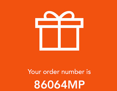 Rate app on Order Confirmation