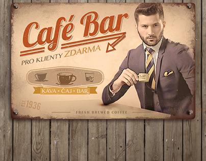 Café Bar sign