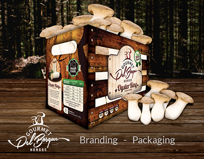 Gourmet del Bosque - New way to sell mushrooms.