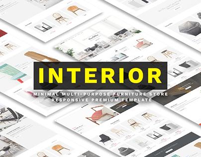 Interior – Furniture and Interior Bootstrap HTML Theme