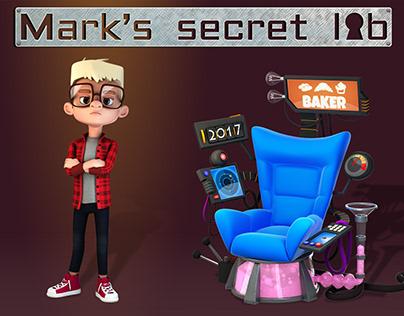 Mark's secret lab TV animated series 52x7'