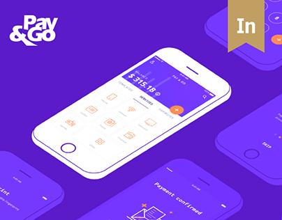 Pay & Go Wallet App