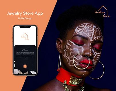 Jewelry Shop App Design