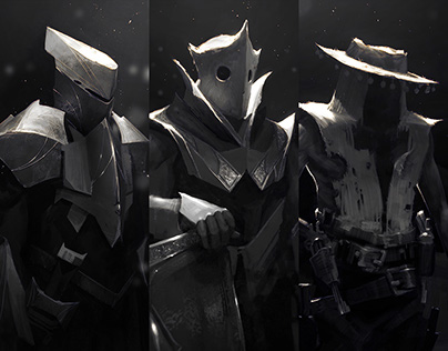 The Three // Character Design
