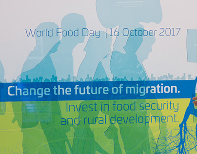 WORLD FOOD DAY 2017 CREATIVE DIRECTION AND EXHIBITION