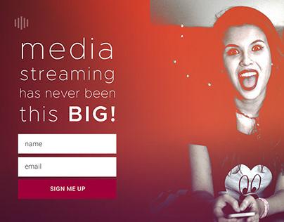 Illustration   Cloud Media Stream