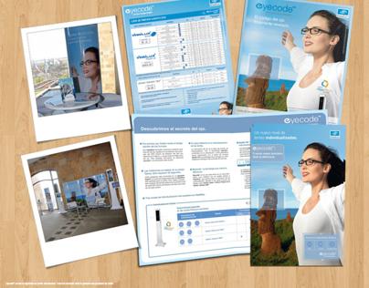 Materiales de comunicación Lentes Eyecode