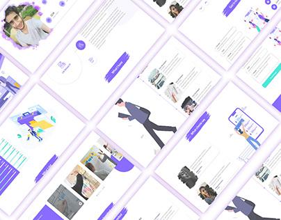 Personal & Portfolio Web Application