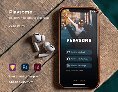 Playsome Music App Case Study