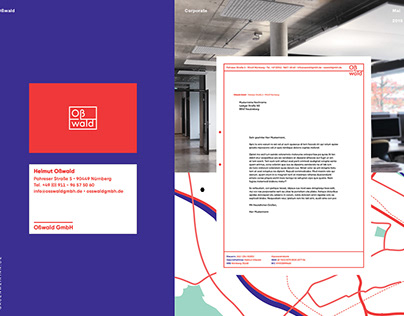 Brand- and Webdesign for Oßwald, office of engineering