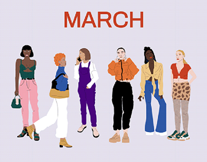 March — Illustration