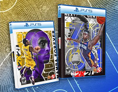 NBA 2K21 Custom Cover Designs