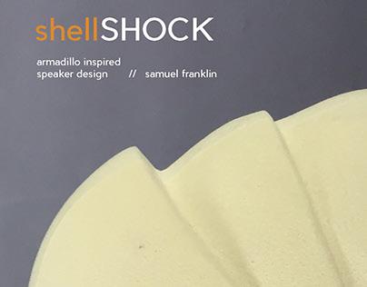 shellSHOCK // Armadillo-Inspired Dorm Speaker