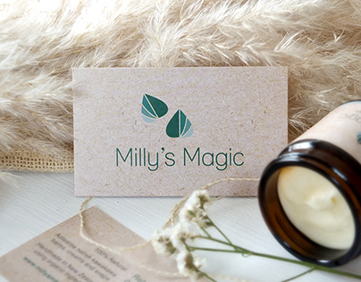 Milly's Magic Logo & Packaging Design