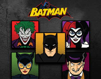 Batman Faceblocks