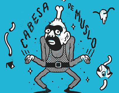 Cabesa de Muslo/ Serebro de Hueso