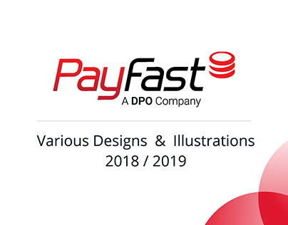 PayFast: Various Designs 2018/2019