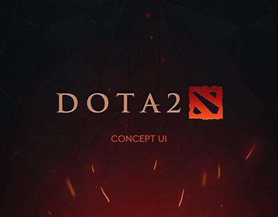 DOTA 2 | Concept UI