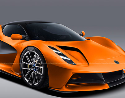 2020 Lotus Evija Orange