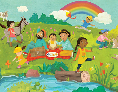 World Vision Spring Hidden Objects Poster