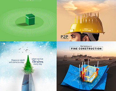 Social Ad Design of P2P, Engineer and Construction