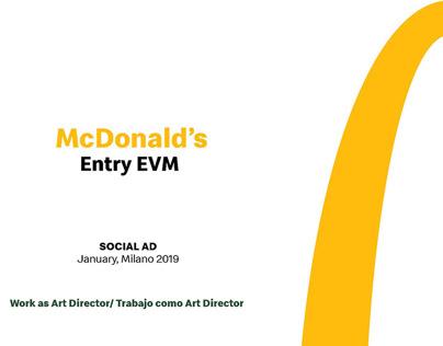 McDonald's | Entry EVM | Social AD