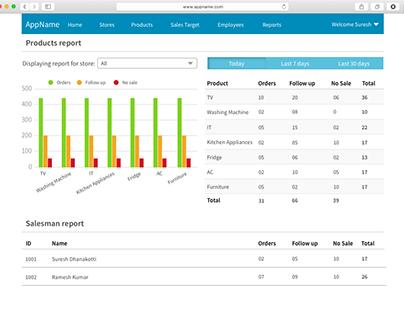 Sales Tracker App