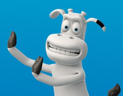 Moo Kraft Mascot - 3D Model