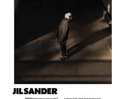 Jil sander / fall 2021 Campaign
