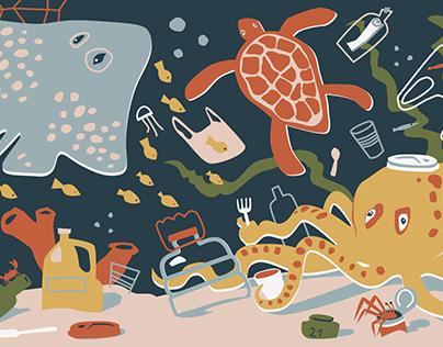 CHEGASTA eco-friendly blog illustration
