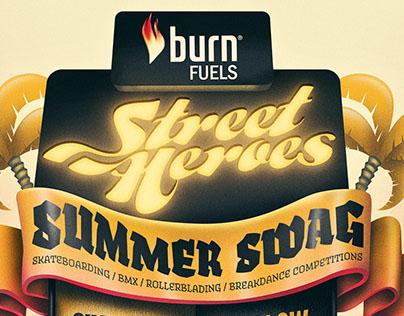 POSTER - Burn Street Heroes