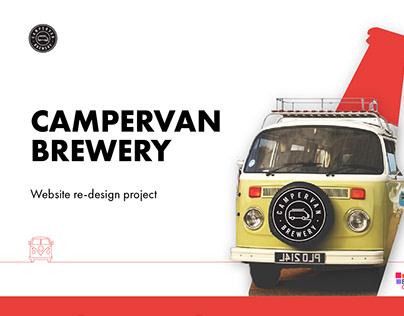 Campervan Brewery Website Design