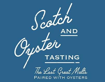 Scotch X Oyster Tasting