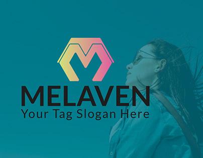 MELAVEN, Logo of Letter. M