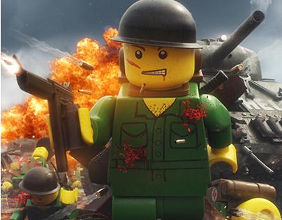 Saving Private Ryan Lego