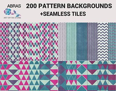 200 Pattern Backgrounds-Dasher