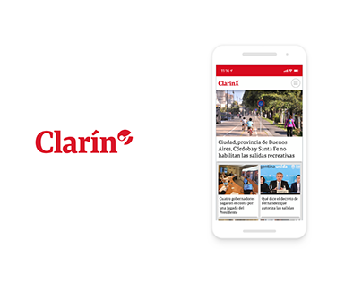 A Brand New App for Clarin.com