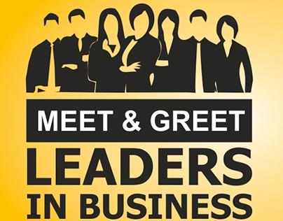 Meet & Greet Flyer Design
