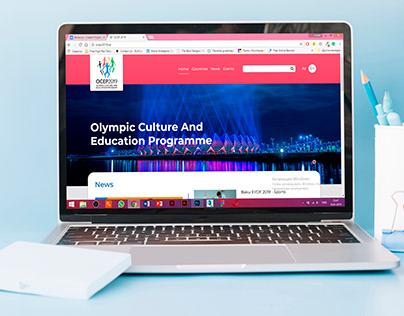OCEP 2019 — Logo and Web Design