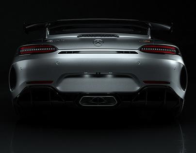 Mercedes AMG GTR - Studio CGI