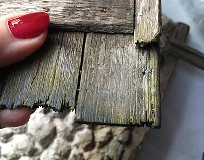 Old Woodend Door .Miniature 1/10 By Gül ipek 2020