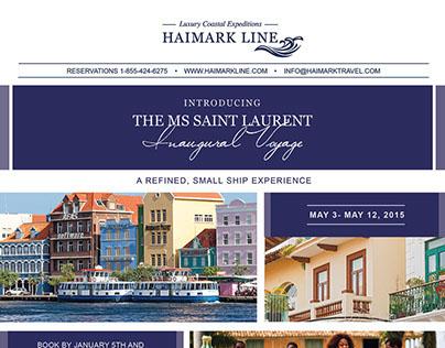 Inaugural Voyage HTML Email