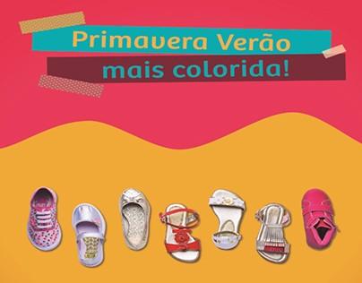 Coleção Verão 2016 - Calçados Infantis