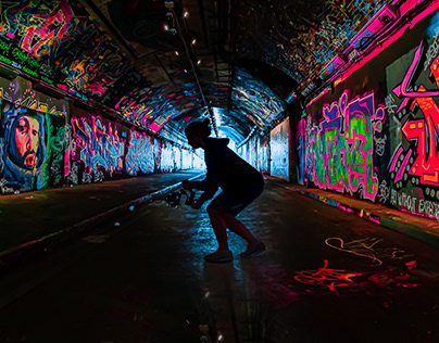 Skate the Tunnels of London