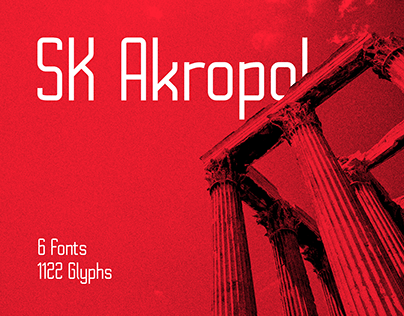 SK Akropol Typeface