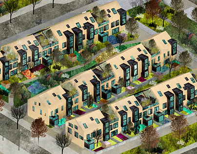 Szczuczyn Sustainable Housing Developement - 2nd Prize
