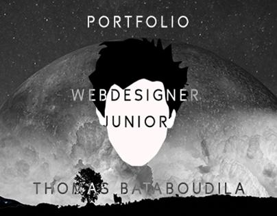 Portfolio Web Designer Jr. - Thomas Bataboudila