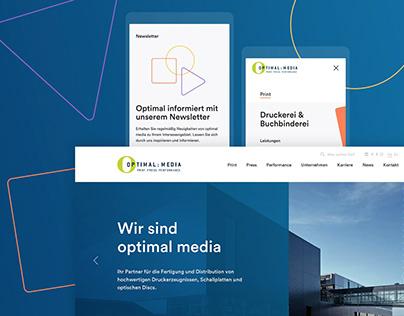optimal Media - Webdesign & Entwicklung
